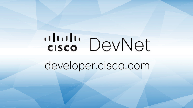 Cisco DevNet Developer