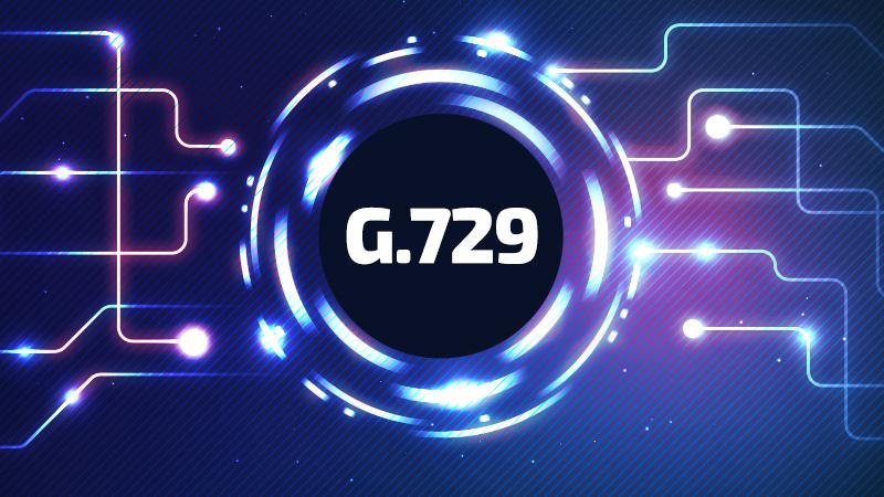 Suport pentru codec-urile G.729